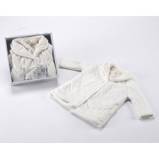 Nana Batin Dressing Gown 723 Blanco White