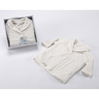 Topitos Batin Dressing Gown 044 Blanco White