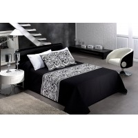 Iris 874 Queen 230x270cm Black