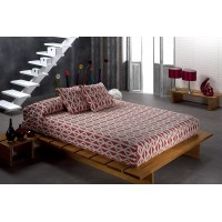 Natura 878 Single 170x240cm Rojo Red