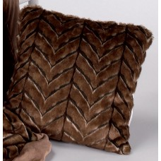 Dunas 746 Cushion Cover 50x50cm Marron Brown