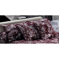 Thais 872 Cushion Cover 50x50cm Burdeos Maroon