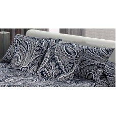 Thais 873 Pillow Cover 50x75cm Marino Navy Blue Paisley